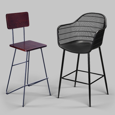 urban restaurant bar stools